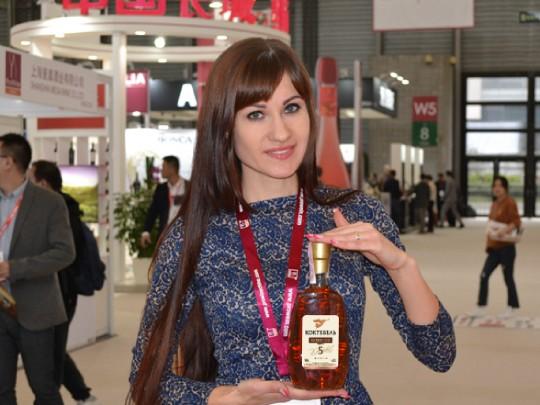 Україна представила свою продукцію на світовій виставці алкогольних напоїв ProWein China 2018 коньяками Коктебель.